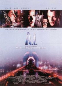 A.I. Intelligenza Artificiale copertina