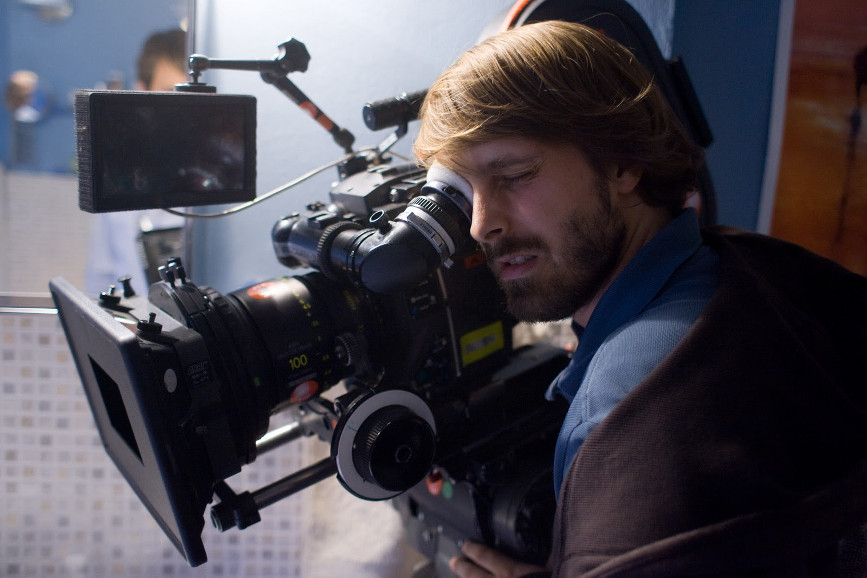 Alexandre Aja con cinepresa