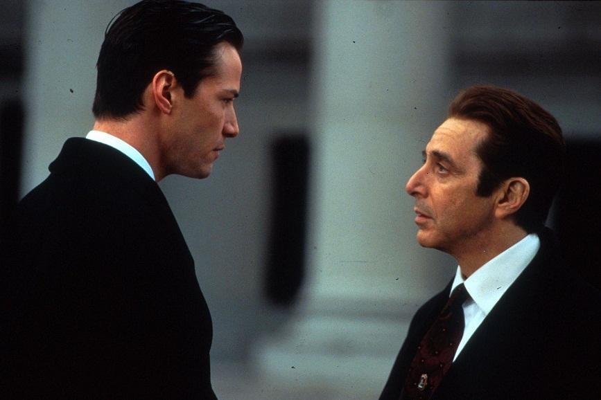 """scena del film """"l'avvocato del diavolo"""""""