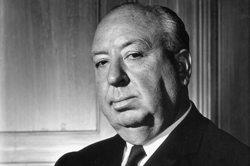 Alfred Hitchcock in bianco e nero