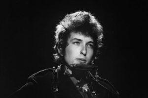 Bob Dylan sfondo nero