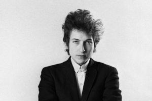 Bob Dylan sfondo bianco