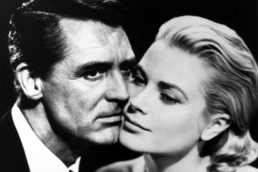 Cary Grant e Grace Kelly Caccia al ladro