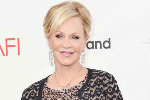 Melanie Griffith sul tappero rosso