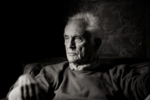 Terence Stamp bianco e nero