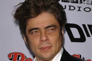 Benicio del Toro Face