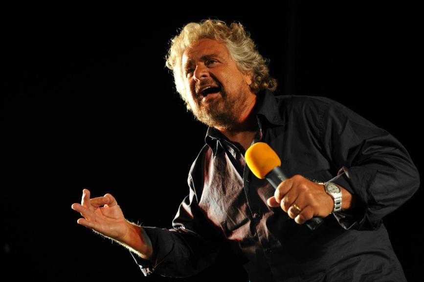 Beppe Grillo comico