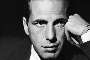 Humphrey Bogart primo piano