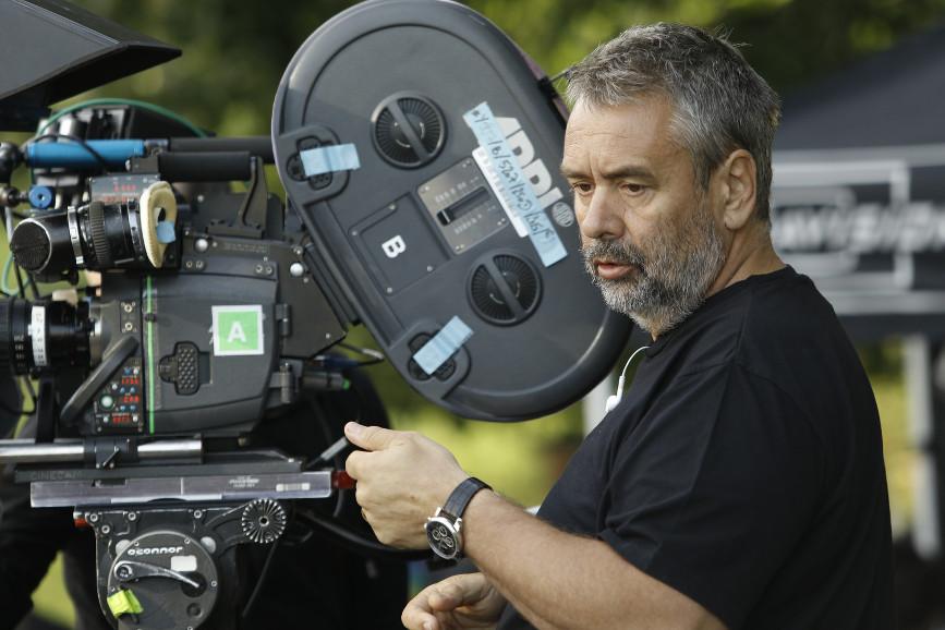 Luc Besson a Roma in conferenza per