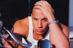 Vin Diesel canottiera bianca