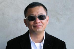 Wong Kar-wai occhiali scuri