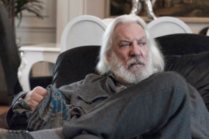 Donald Sutherland capelli lunghi