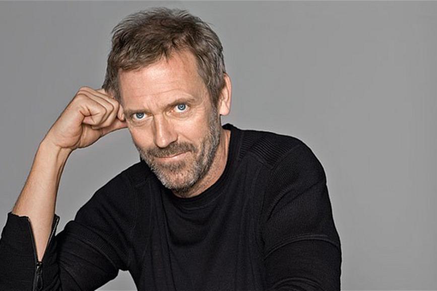 Hugh Laurie insieme a George Clooney in