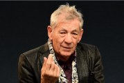 "Ian McKellen alla Festa del Cinema di Roma per ""McKellen: Playing The Part"""