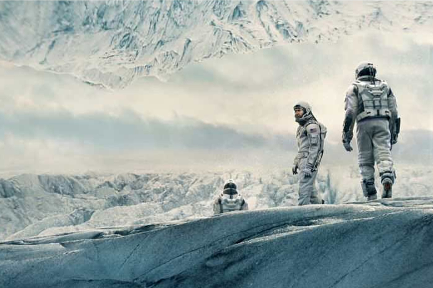 Christopher Nolan scena film Interstellar