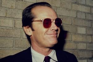 Jack Nicholson con gli occhiali da sole