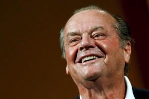 Jack Nicholson sorridente