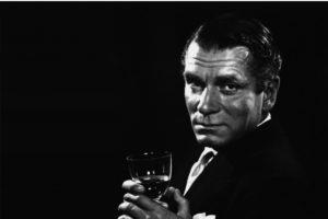 Laurence Olivier sfondo nero