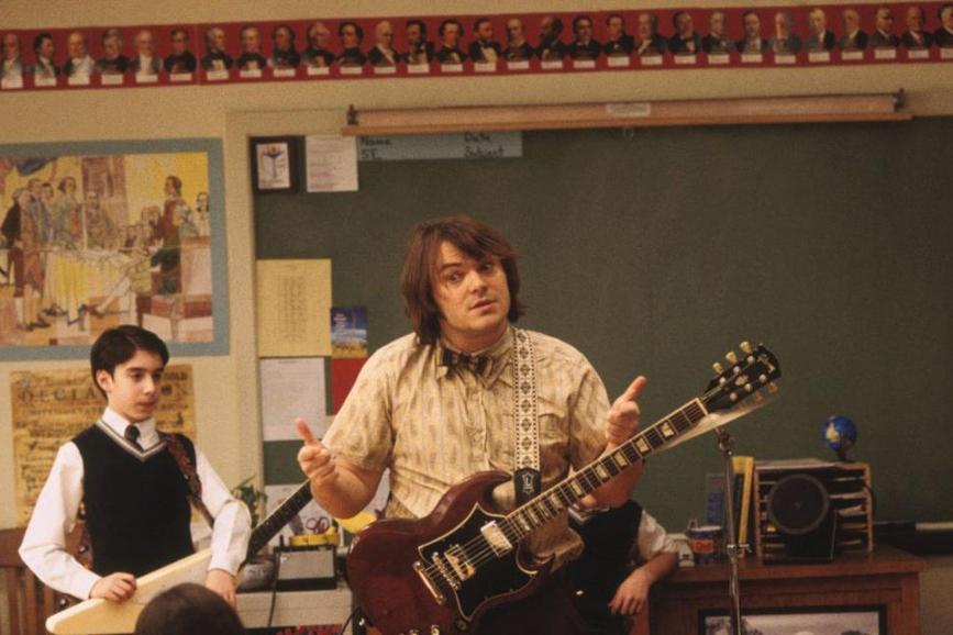 Richard Linklater School of Rock