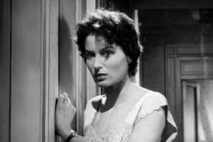 Silvana Mangano in una scena di un film
