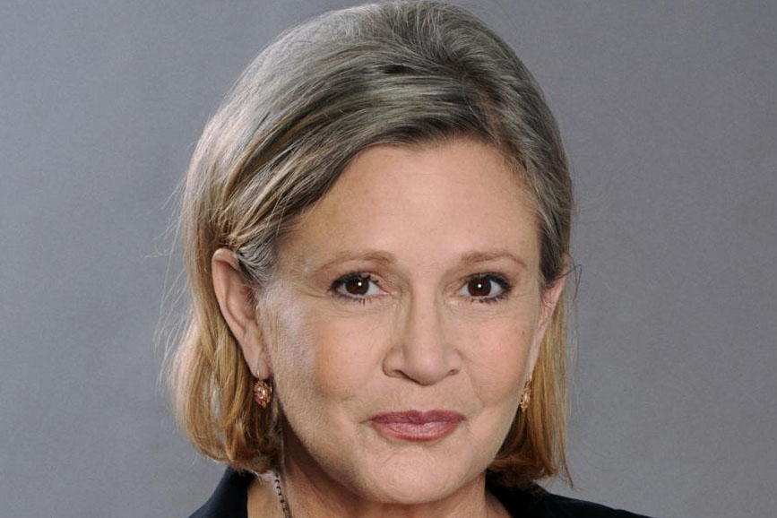 Carrie Fisher anniversario