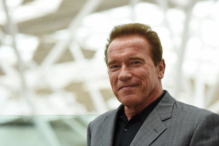 Arnold Schwarzenegger: Oktoberfest in compagnia del figlio
