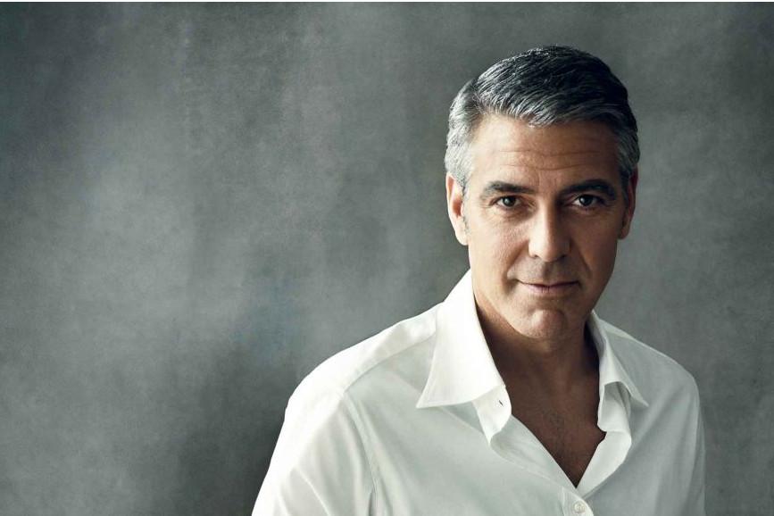 George Clooney futuro papà: