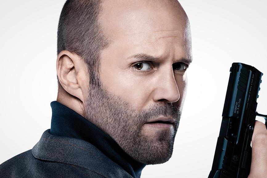 Jason Statham pistola