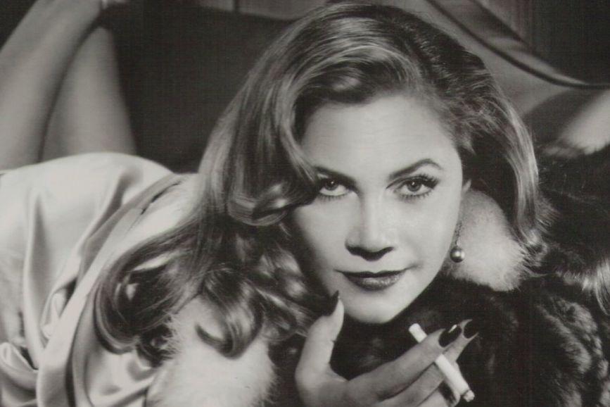 Kathleen Turner bianco e nero