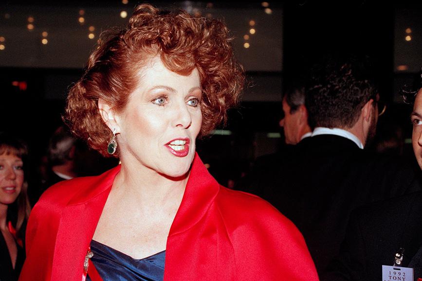 Lynn Redgrave rossa