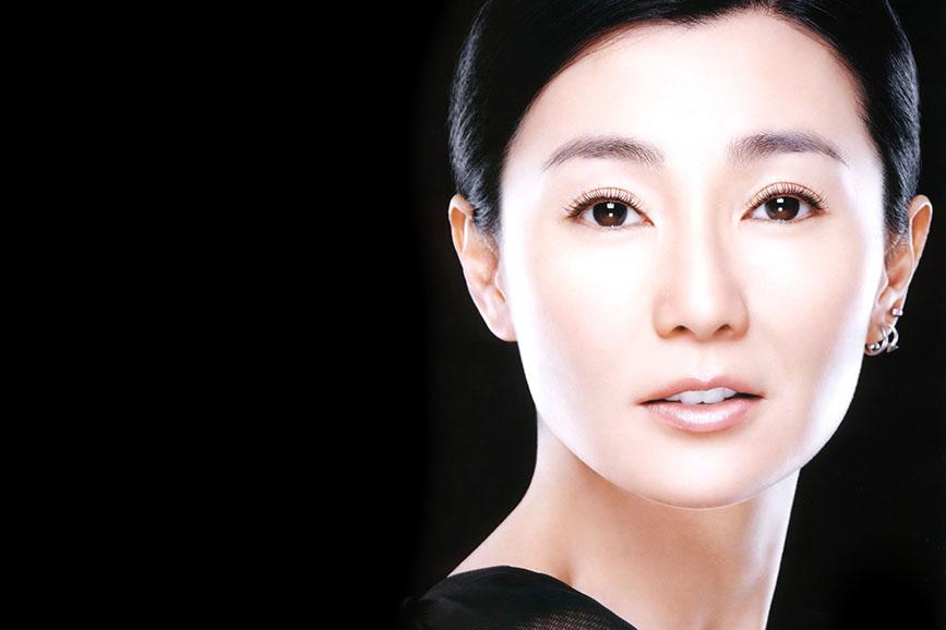 Maggie Cheung photoshoot