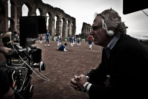 Marco Risi set cinematografico