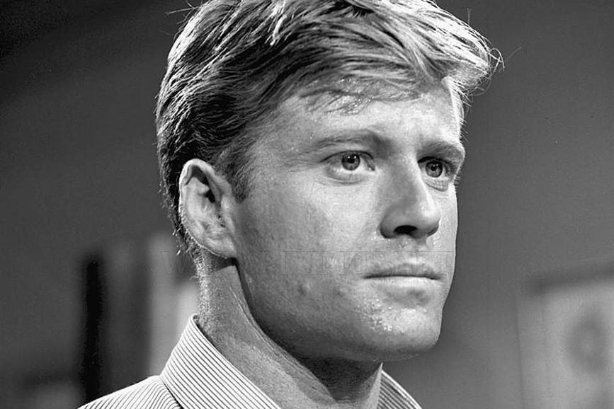 Robert Redford in bianco e nero
