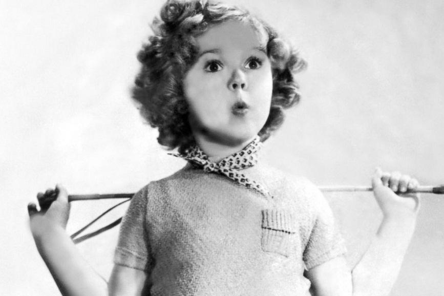 Shirley Temple da piccola