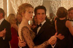 Tom Cruise e Nicole Kidman in Eyes Wide Shut