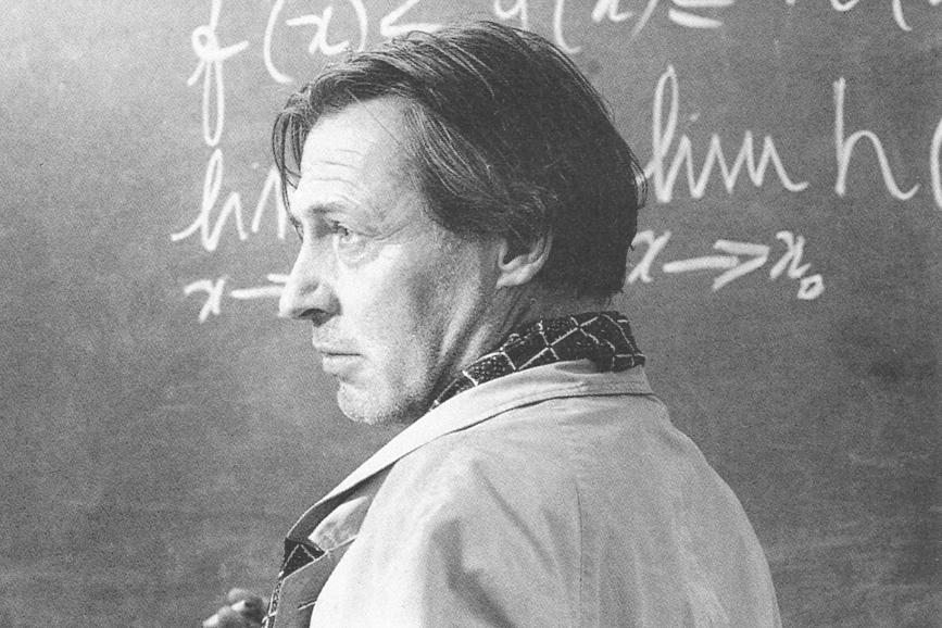 """Carlo Cecchi nella pellicola """"Morte di un matematico napoletano"""", regia di Mario Martone (1991)"""