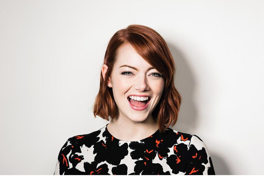 Emma Stone sorriso