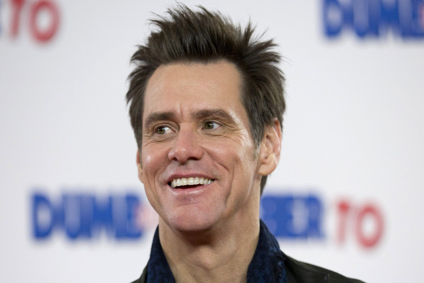 Jim Carrey nei panni di Joe Biden