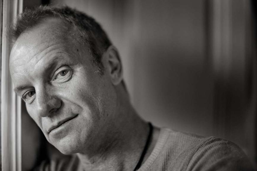 Il cantante e attore Sting