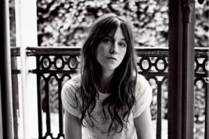 Charlotte Gainsbourg bianco e nero