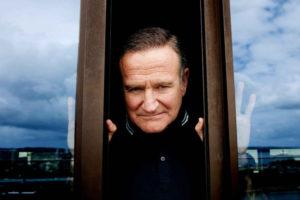 Robin Williams dietro la finestra