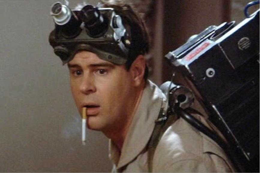 """Dan Aykroyd in """"Ghostbusters"""""""