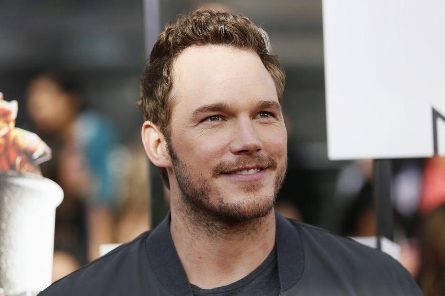 Chris Pratt sorriso