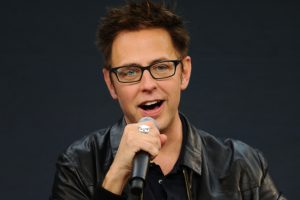James Gunn ad una conferenza