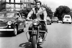 Jean-Paul Belmondo moto