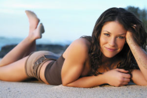 Evangeline Lilly provocante