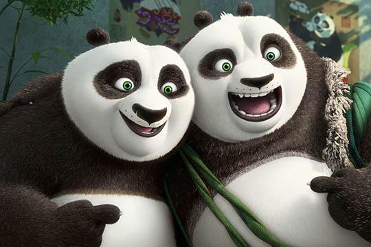 """""""Kung Fu Panda 3″: un nuovo trailer con Po e suo padre"""