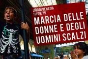Venezia 'scalza' marcia per i migranti