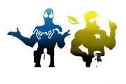 Booster Gold e Blue Beetle sul grande schermo