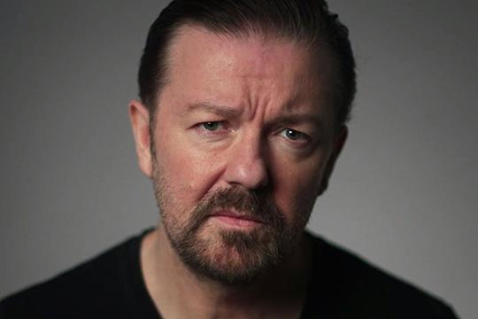 Ricky Gervais di nuovo presentatore dei Golden Globe